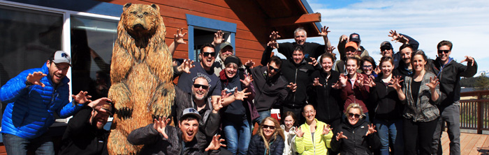 Bear Adventure Crew in Alaska